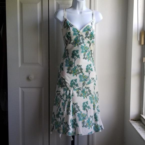 Full Circle Dresses & Skirts - Full Circle Tea Dress Silky